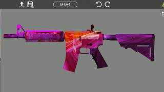 Counter Strike Guns Skin Creator App